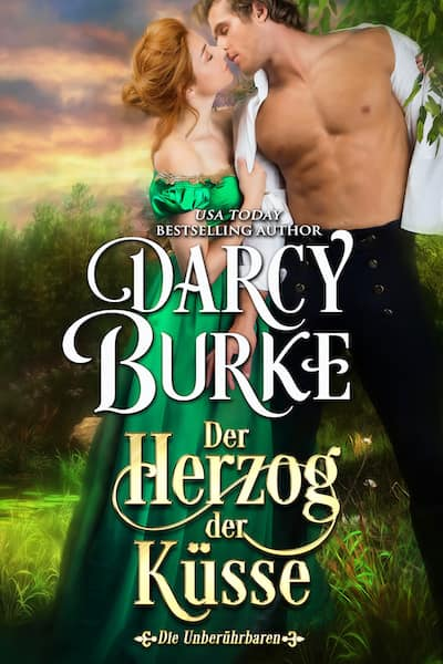 Book cover for Der Herzog der Küsse by Darcy Burke