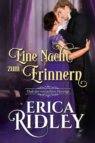 Book cover for Eine Nacht zum Erinnern (Erica Ridley)